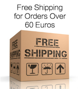 Free Shipping for Orders Over 60 Euros